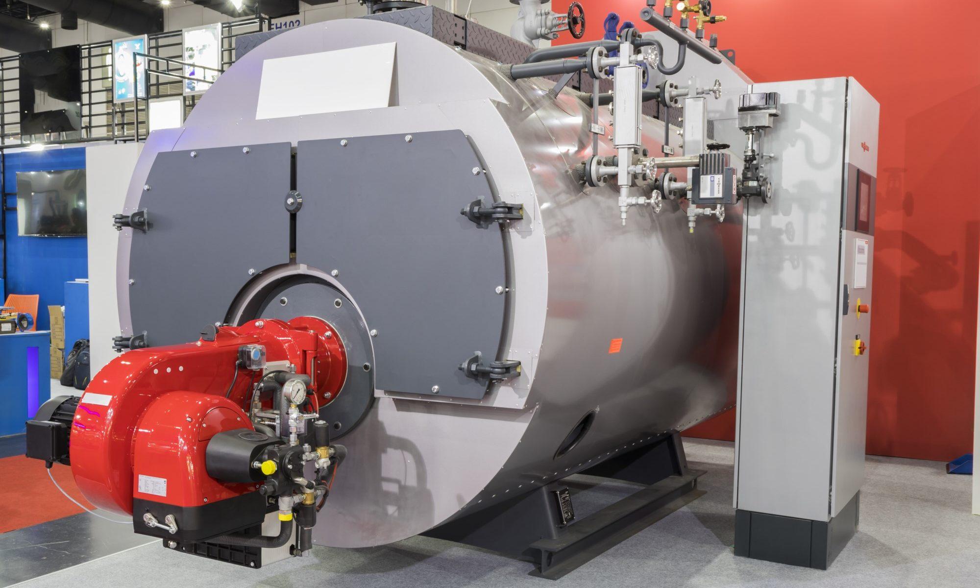 Combustion Control boiler all set up